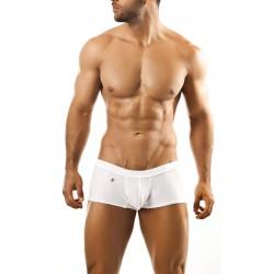 JOE SNYDER bílé boxerky s gumou v pase XPS01