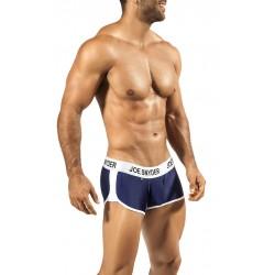 JOE SNYDER tmavě modré boxerky s gumou v pase JS AW05