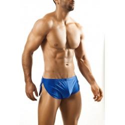 JOE SNYDER modré boxerky s rozparkem JS09