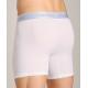 CALVIN KLEIN bílé boxerky s dlouhou nohavičkou Superior Plus