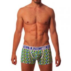 AWARE SOHO pánské boxerky Boxer 110 s delší nohavičkou a s designem Brazílie