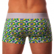 AWARE SOHO pánské boxerky s delší nohavičkou a s designem Brazílie