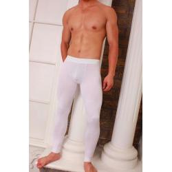 GOOD MEN WEAR pánské bílé uplé kalhoty