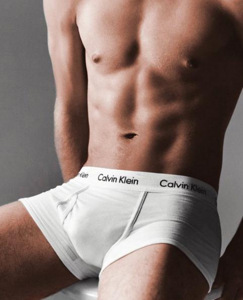 CALVIN KLEIN bílé pánské boxerky Modern Essentials Trunk U6411A