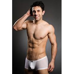 BODY ART bílé pruhované boxerky Kamari