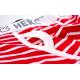 PINK HERO červeno-bílé pruhované boxerky Stripes