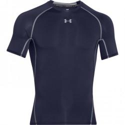 Under Armour Pánské kompresní triko Under Armour s krátkým rukávem tmavě modré 1257468-410 XXL