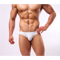 BRAVE PERSON sportovní bílé slipy