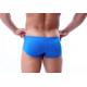 BRAVE PERSON sportovní modré boxerky s krátkou nohavičkou