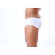 BRAVE PERSON sportovní bílé boxerky s krátkou nohavičkou