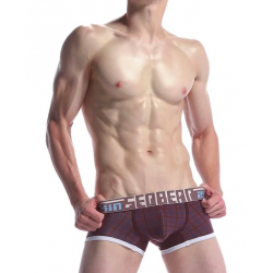 SEOBEAN pánské kvalitní hnědé boxerky Skin