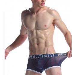 SEOBEAN pánské tmavě modré boxerky Skin