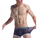 DIESEL šedé boxerky s potiskem Shawn Naek