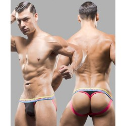 ANDREW CHRISTIAN černé jocks tanga Almost Naked Jock Thong