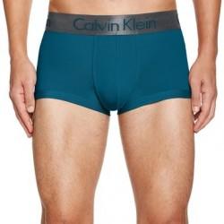 CALVIN KLEIN tmavě zelené boxerky Zinc