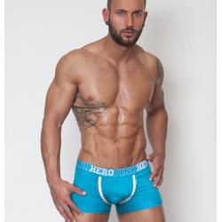 PINK HERO modré boxerky s modrou gumou Colors