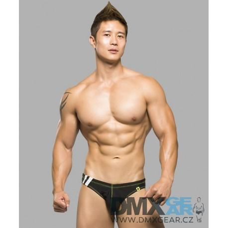 ANDREW CHRISTIAN pánské slipové plavky černé Team Bikini Velikost S