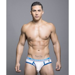 ANDREW CHRISTIAN slipy bílé Tighty Whitie Fly Brief 90006