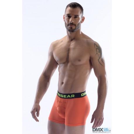 DMXGEAR pánské luxusní oranžové boxerky Anatomically Fit Boxer