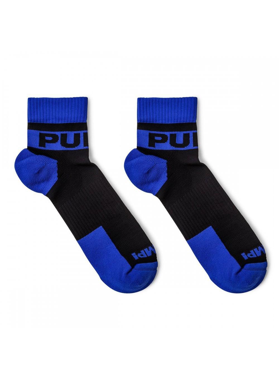 PUMP! pánské sportovní černo-modré ponožky krátké All-Sport Panther Socks 41003