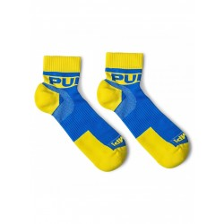 PUMP! pánské sportovní bílo-černé ponožky krátké All-Sport Spring Break Socks 41004