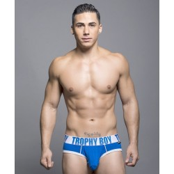 ANDREW CHRISTIAN modré slipy Trophy Boy Brief 90018