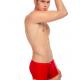 JQK červené sexy pánské boxerky Smooth