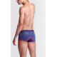 SEOBEAN pánské tmavě modré boxerky Pink Solid