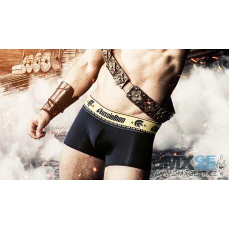 AUSSIEBUM černé pánské boxerky Gladiator Hipster