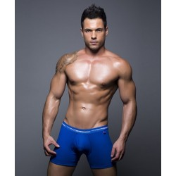 ANDREW CHRISTIAN boxerky pánské modré Basix Tagless Boxer 90131