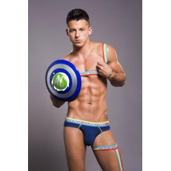 ANDREW CHRISTIAN slipy tmavě modré Almost Naked Pride Brief