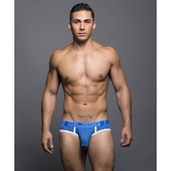 ANDREW CHRISTIAN slipy modré BLOW! Mesh Locker Brief 90055