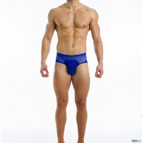 MODUS VIVENDI jocksy pánské modré průhledné Transparent Bottomless