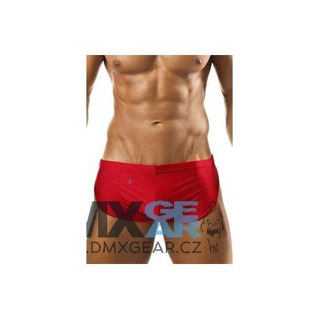 JOE SNYDER červené boxerky s rozparkem JS09
