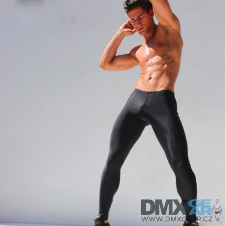 AQUX černé elasťáky Sport