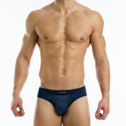 MODUS VIVENDI klasické slipy džínové Indigo Jeans Brief 12613