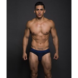 ANDREW CHRISTIAN slipy tmavě modré Almost Naked Bamboo Tagless Premium Brief Navy