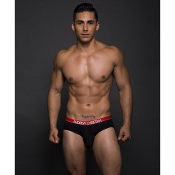 ANDREW CHRISTIAN slipy černé Almost Naked Retro Modal Tagless Brief 90066