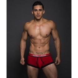 ANDREW CHRISTIAN boxerky červené Almost Naked Retro Modal Tagless Boxer