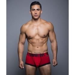 ANDREW CHRISTIAN pánské červené boxerky Trophy Boy Boxer 90093