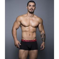 ANDREW CHRISTIAN pánské černé boxerky Almost Naked Tagless Cotton Boxer 90123
