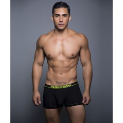 ANDREW CHRISTIAN boxerky černé Almost Naked Tagless Bamboo Sports Boxer 90118