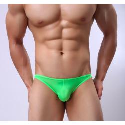 BRAVE PERSON slipy zelené průsvitné bokové Hero