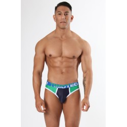 TIMOTEO slipy zelené Shockwave Brief