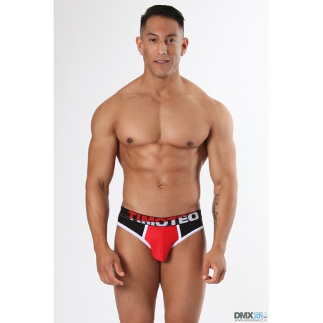 TIMOTEO slipy černé Shockwave Brief
