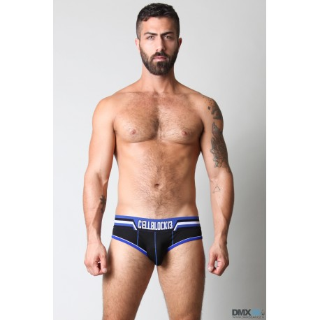 CELLBLOCK13 slipy modré Interceptor Brief