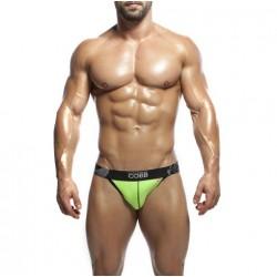 ALEXANDER COBB jockstrapy zelené s černou gumou Envy