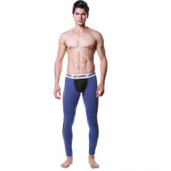 DESMIIT tmavě modré-černé pánské dlouhé kalhoty Pure