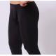 BRAVE PERSON pánské černé průhledné kalhoty