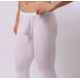 BRAVE PERSON pánské bílé průhledné kalhoty Woxuan